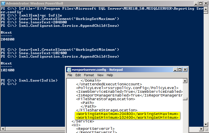 how to produce xml file from sql